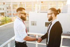 Vertragsabschluss, Partner, Kooperation